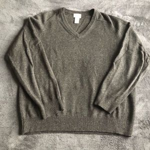 L.L. Bean Lambswool V-Neck Sweater